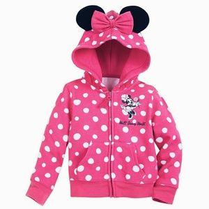 Disney Parks sweet minnie mouse ears hoodie